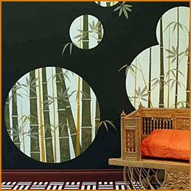 Трафареты бамбука →