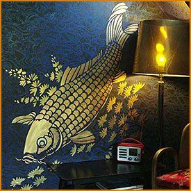 Трафареты рыб и моря →